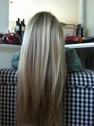 Image result for blonde hair with brown lowlights tumblr