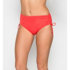 #BeachHouse Adjustable #HighWaisted #SideTie Bottom in Coral