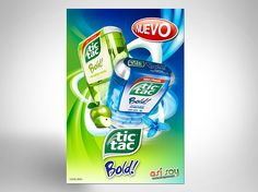 Campaña de Lanzamiento de producto Tic Tac Bold.Imagen de campaña, aplicación de diseño en materiales de punto de venta y presentación para lanzamiento de producto..........Launch Campaign for Tic Tac Bold product .Image campaign, design application i…