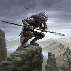 Goblin Pursuer by joelhustak