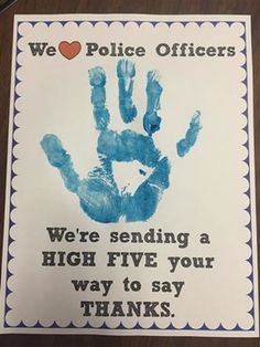 A great activity for a community helper theme that's easy to adapt. Kiddos would love handing these out to the community helpers too. Preschool Classroom, In Kindergarten, Preschool Activities, Respect Activities, Space Activities, Children Activities, Police Activities, Kindness Activities, Toddler Classroom