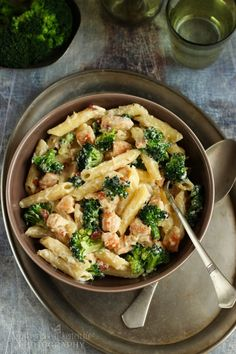 Penne, Pasta Recipes, Cooking Recipes, Salad Dishes, Vegetarian Recipes, Healthy Recipes, Quick Meals, Macaroni And Cheese, Main Dishes