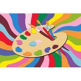 "Found it at Wayfair - Fun Time Painting Time Kids Rug 4.5' x 6' 8"" $70.71"