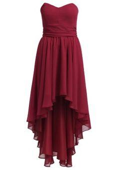 Cocktailkleid / festliches Kleid - braunrot