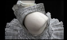 Marvelous Wearable Paper Dress by kelly Murray 3 Unusual Dresses, Recycled Dress, Newspaper Dress, Paper Fashion, Recycled Fashion, Dress Hats, Diy Dress, Dress Ideas, Party Looks