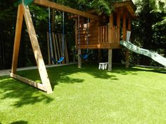 SYNLawn play areas are clean, safe and always green!