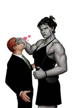 She Hulk - John Tyler Christopher Tyler Christopher, John Tyler, Marvel Universe, Female Hulk, Comic Books Art, Comic Art, Superhero Humor, Female Superhero, Hulk Art
