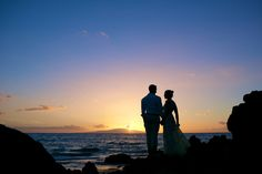 Sunset Island Wedding - Anna Kim Photography