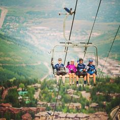 Park City in the winter or summer months, the resort lifts are available for a ride so you and your family can enjoy the majestic beauty of the majestic landscape of Park City. For more information please visit www.parkcityutah.com #parkcityutah