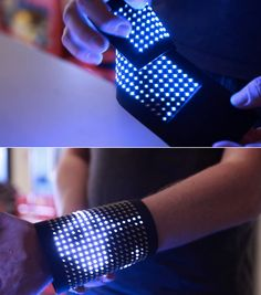 LED Displays Signals, Graphics On Your Back