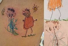 9 Tattoo Ideas For Parents Dedicating To Their Kids Parent Tattoos, Classy Tattoos, Kids Fashion Blog, Your Child, Watercolor Tattoo, Tatting, Ink, Cool Stuff, Children