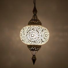 hanglamp pompoen mozaïek turkish design transparant