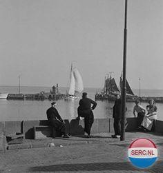 Haven Volendam  1945 tot 1950  Foto's SERC