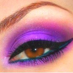Purple Makeup for Brown Eyes – Beauty and Make Up Pictures Gorgeous Makeup, Pretty Makeup, Love Makeup, Makeup Tips, Makeup Looks, Hair Makeup, Makeup Ideas, Sexy Makeup, Prom Makeup