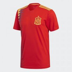 bca1013e5 2018 World Cup Jersey Spain Home Replica Red Shirt 2018 World Cup Jersey  Spain Home Replica Red Shirt