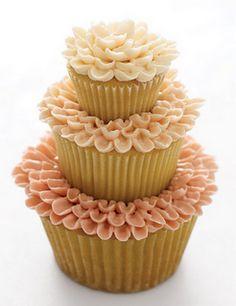 cupcake, flower cupcake