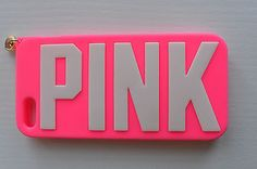 PINK Victoria Secret iPhone 5/5s phone case (pink)