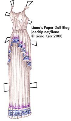 Liana's Paper Doll Blog » greek paper dolls