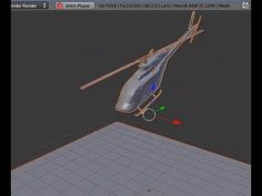 Tutorial Blender 3D 2.5 - Corso di base - 71: animare oggetti imparentati; le pale dell'elicottero - #Animazioni #Blender #CorsoBlender #Elicottero #LezioniBlender #OggettiImparentati #ParentAnimation #ParentObject #Redbaron85 #Videotutorial http://wp.me/p7r4xK-dc