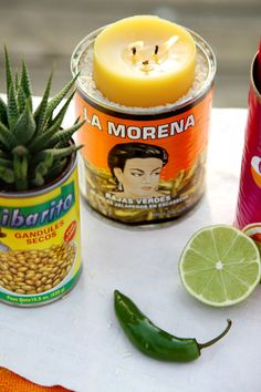 HOW TO MAKE A CITRONELLA CANDLE W/ Meagan Camp & Jessica Soga- JAMIE BECK