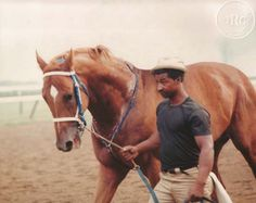 Secretariat and Eddie Sweat