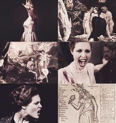 Hecate is the Greek goddess of the crossroads. The goddess possesses infernal…