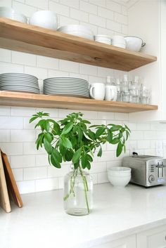 Although they may give out a traditional vibe, kitchen subway tiles never get old. They a timeless and classical detail that can be adapted to suit any kit
