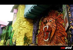 Kampung Tridi (3D) di Kota Malang merupakan salah satu kampung wisata terbaru yang terletak bersebelahan dengan kampung Warna Warni Jodipan. Kampung Tridi menerapkan konsep kampung dengan tembok, jalan dan segala yang tampak di lingkungan di cat dengan berbagai gambar 3 dimensi yang keren-keren.