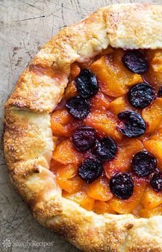 Apricot Cherry Galette