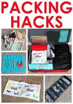 GREAT packing hacks!