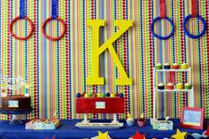 Gymnastics Theme Party {Kids Birthday Party} What kid doesn't love to jump and tumble? Check out this amazing gymnastic themed dessert table featuring cake… 1st Birthday Party Games, Valentines Day Birthday, Birthday Table, Birthday Cupcakes, Girl Birthday, Birthday Ideas, Birthday Crafts, Husband Birthday, 26th Birthday
