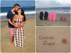 Pregnancy reveal... Baby Bower! :)