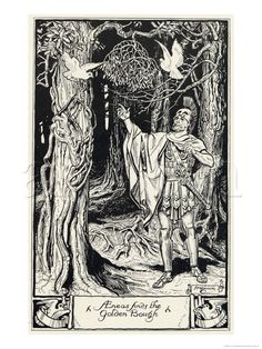 §§§ : Aeneas finds the Golden Bough : 1922