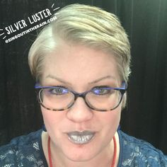 Limited Edition Silver Luster LipSense by SeneGence is a cool color. You can view it on people, look at combos or comparisons or even in a collage.  However, nothing rivals seeing it on a real person.  Click to purchase yours NOW!  #lipsense #senegence