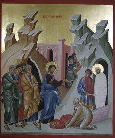 Life Of Christ, Jesus Christ, Roman Church, Jesus Painting, Russian Icons, Byzantine Art, Orthodox Christianity, Orthodox Icons, Religious Art