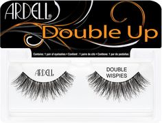 What's better than one Ardell Demi Wispie? Two Demi Wispies! Ardell has taken cult-favorite Demi Wispies and stacked them for mega Wispies impact in the Double Up Demi Wispies. Ardell Lashes Double Up, Ardell Eyelashes, Applying False Eyelashes, Applying Eye Makeup, False Lashes, Ardell Lashes Dramatic, Dramatic Eyes, Longer Eyelashes, Makeup 101