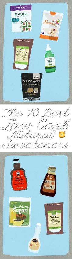 fca2a7d48d The 10 Best Low Carb Natural Sweeteners Low Carb Desserts, Low Carb Sweets,  Thm