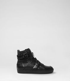 Womens K80 Sneaker (Black) | ALLSAINTS.com