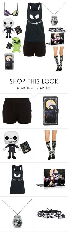 """""""Watching Nightmare before Christmas! Yay!"""" by shadow-cheshire ❤ liked on Polyvore featuring DKNY, women's clothing, women, female, woman, misses and juniors"""