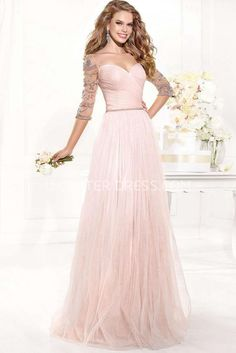 US$141.79-Classy Sweetheart 3-4 Sleeve Tulle Blushing Pink Wedding Guest Dress with Sleeves. http://www.ucenterdress.com/a-line-criss-cross-sweetheart-3-4-sleeve-tulle-prom-dress-pMK_303337.html. Shop for summer wedding guest dresses, fall wedding guest dress, wedding guest dress ideas, winter wedding guest dress, plus size wedding guest dress, formal wedding guest dress, beach wedding guest dress, black tie wedding guest dress, wedding guest dress with sleeves. wedding guest dress outdoor…