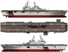 Us Amphibious Assault Ships   ... > Ships > Ships (US) > USS LHD-1 Wasp [Amphibious Assault Ship