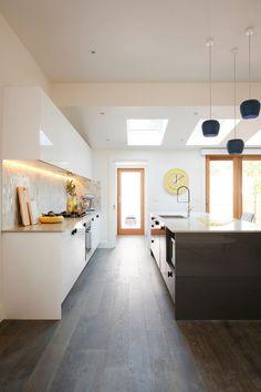Reno Rumble Kitchens - Dark Floor in kitchen - Kitchen Ideas