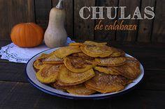 El jardín de mis recetas: CHULAS DE CALABAZA
