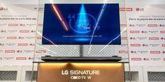 "LG Signature OLED TV W7 65"" μόνο στον Κωτσόβολο!"