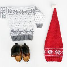 Ravelry: Oops-it's-christmas-hat / Oopsdeterjulnisselue pattern by Marianne J. Bjerkman