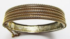 Vintage 1960s Gold Toned Nicely Detailed by GildedTrifles on Etsy