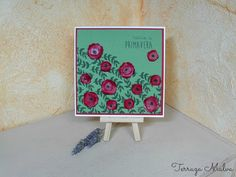 TARJETA PRIMAVERA / SPRING CARD | Terraza Malva