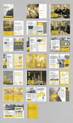 Annual Report by MrTemplater on Creative Market . - Pin Magazine Annual Report by MrTemplater on Creative Market … Annual Report by MrTemplater on Creative Market Page Layout Design, Graphisches Design, Magazine Layout Design, Web Design Trends, Graphic Design Layouts, Magazine Layouts, Chart Design, Design Ideas, Portfolio Design
