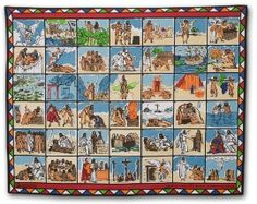 Bible Storying Cloth Scarf -- Share with people in your church or study group how the gospel is spread among oral learners with a Bible storying scarf, also called a storying cloth. Chronological Bible, Wordless Book, Visual Aids, Bible Teachings, Jehovah's Witnesses, Love Signs, Bible Stories, Sunday School, Teaching Kids