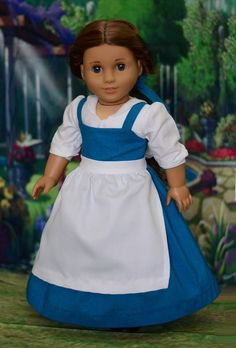 """Provincial Belle"" Dress, Outfit, Clothes for 18"" American Girl #LuminariaDesigns"